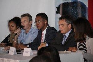 Présentation du HWWC 2015 hier au Chef Avenue Soarano, par Cetemada et ses partenaires.