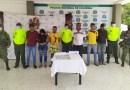 Capturaron a «Los Periquitos» banda dedicada a la comercialización de estupefacientes en Valledupar