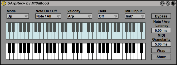 UArp - Max for Live Device: The Ultimate Arpeggiator / Sequencer by MIDIMood