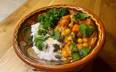 Un délicieux curry végétarien