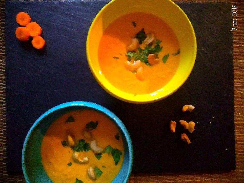 carottes crues