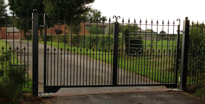 Mallory Wrought Iron Gate