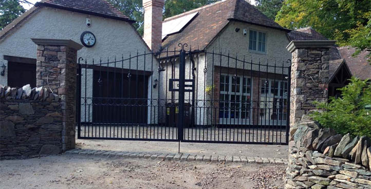 Cadwell Wrought Iron Gates