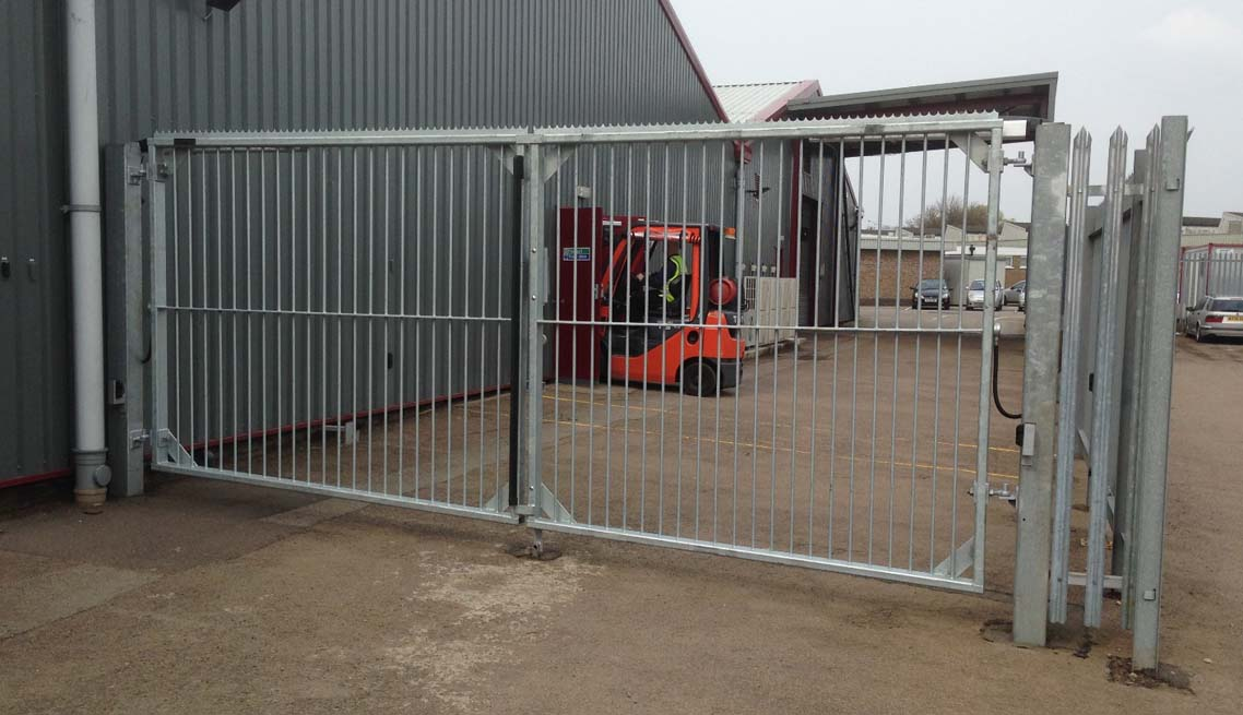 Industrial Electric Gates : Hd classic ultra industrial gates midland electric