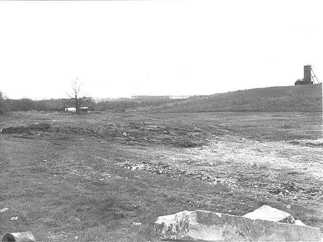 Site preparation for the Road Transport Museum at Swanwick. May 1985