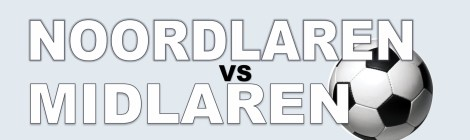Voetbalwedstrijd Noordlaren - Midlaren