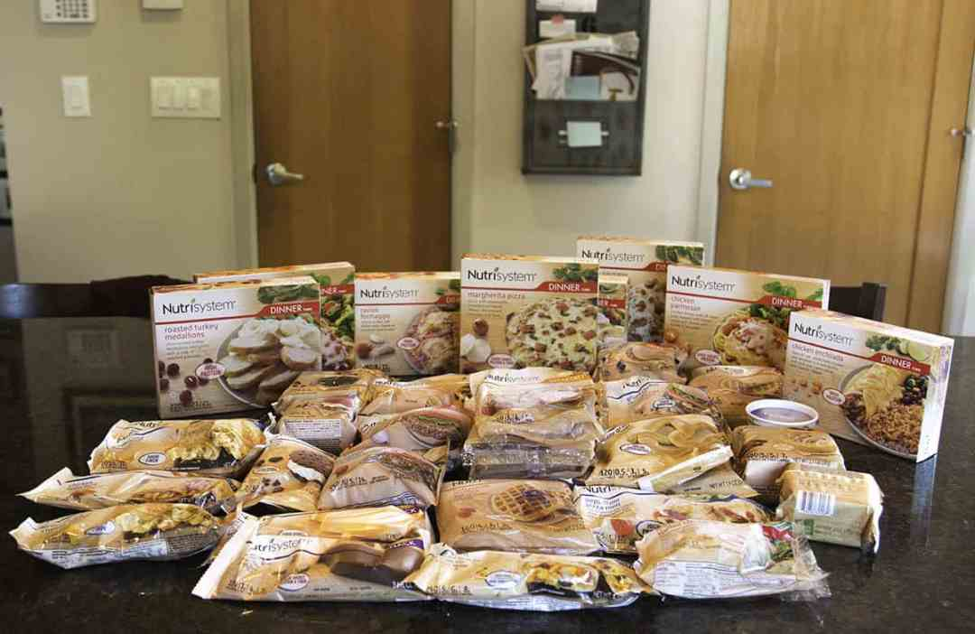 Here's all the Nutrisystem frozen foods your get with the Uniquely Yours package. Delicious looking.