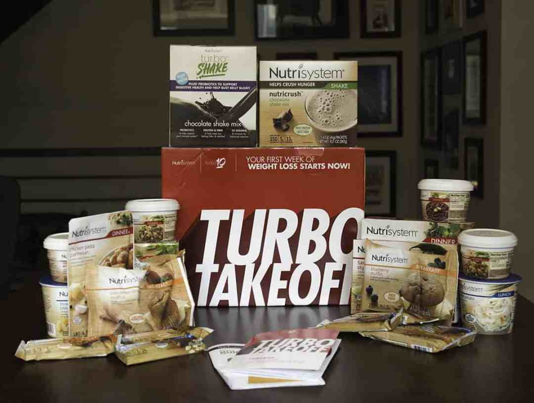 Here's the food you get with Week One of Nutrisystem, the Turbo Takeoff
