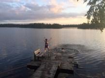 Midlife Sentence   Sunset in Finland