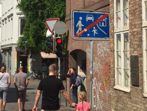 Midlife Sentences | Americans interpret European Road Signs