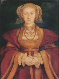 Portrait of Henry VIII Wife Anne of Cleves