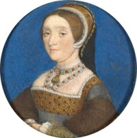 Portrait of Henry VIII Wife Catherine Howard