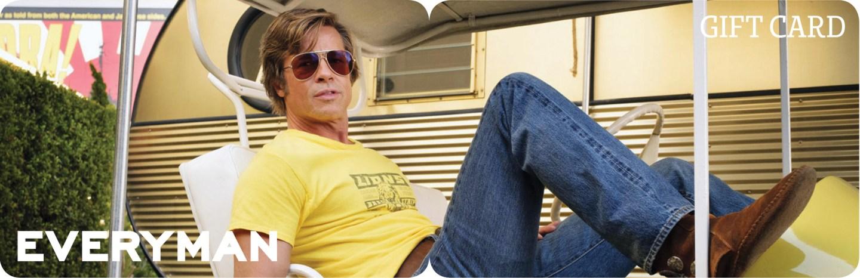 Everyman Cinema Gift Voucher featuring Brad Pitt