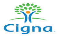 We are registered with CIGNA