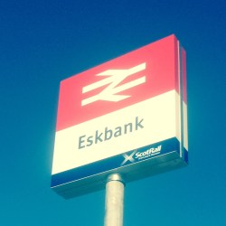 Eskbank railway station, 250 parking places and a 3 and a half minute walk from Midlothian Physiotherapy LLP