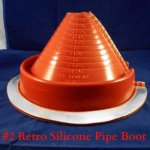 Retrofit Silicone Pipe Boots