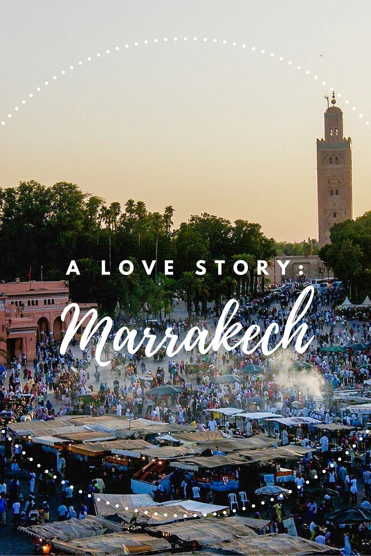 Want to hear a travel love story? I got one for you. Well, an almost love story. But it takes place in Marrakech, that should make up for something.