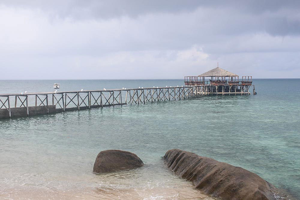 Tioman Island in the South Chinese Sea is quite a trip from Kuala Lumpur, but worth while the effort once you step off the boat and into Japamala Resort.