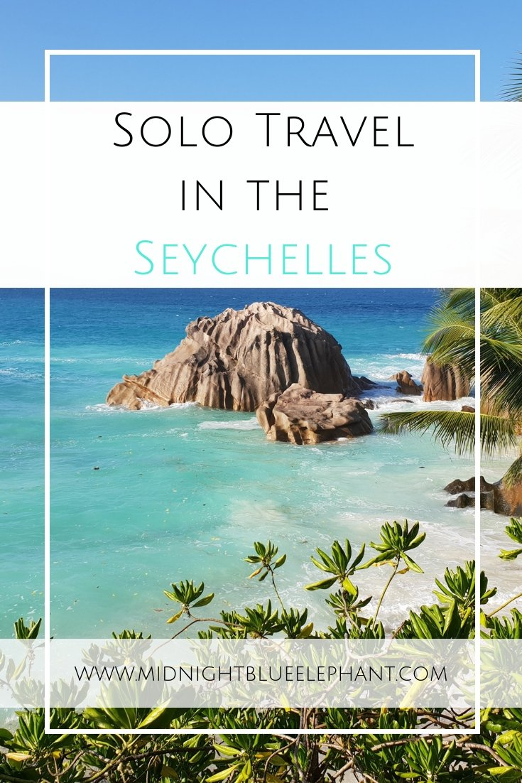 Solo travel Seychelles? Are solo travelers even allowed in the ultimate honeymoon paradise? Read all about why and how you should plan a solo trip to Seychelles. Mahe, Praslin, and La Digue - which islands to go to, what to do and why you should be planning a Seychelles for singles trip. #seychelles #solotravel #mahe #pralin #solomoon