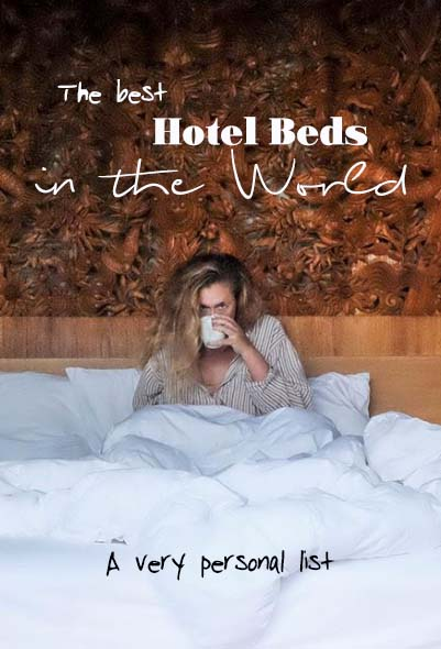 I have made way through quite a few beds. There, I said it. So if you want to know who has the best hotel beds? I'm your girl and will gladly share my favorite hotels in the world. #hotels #luxuryhotels #marrakech #bali #kualalumpur #dubai #bangkok