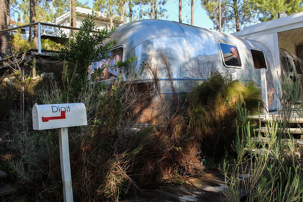 Old Mac Daddy was a farm – Glamping in South Africa.