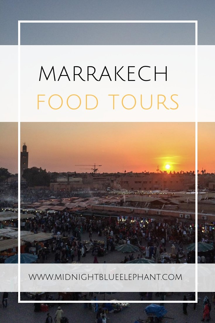 You want to eat all of Morocco but don't know where to start? Then I recommend you join Marrakech Food Tours for a gourmet treat in the medina - streetfood & the best tagine in Morocco await! #morocco #marrakech #marrakechfoodtour #foodtour #moroccanfood