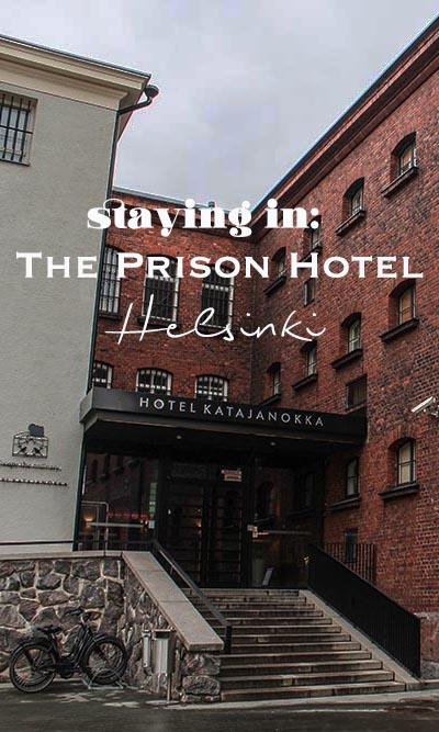 How about spending a night at the prison hotel Helsinki and staying in for a night? Perfect place for a little travel break. #finland #helsinki