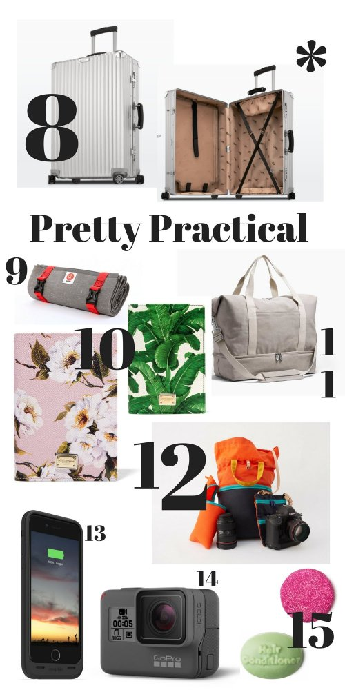 Looking for stylish gifts for travelers? Either for yourself or the other travelers in your life? Look no further - here is your globetrotting gift guide!