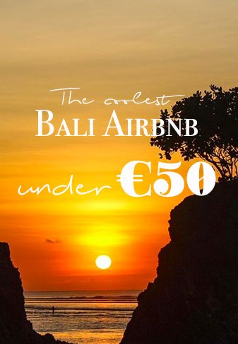Looking for an alternative to a hotel in Bali? Here are some of my favorite Bali airbnb for all tastes and under € 50! #bali #indonesia #wonderfulindonesia #airbnb #baliairbnb