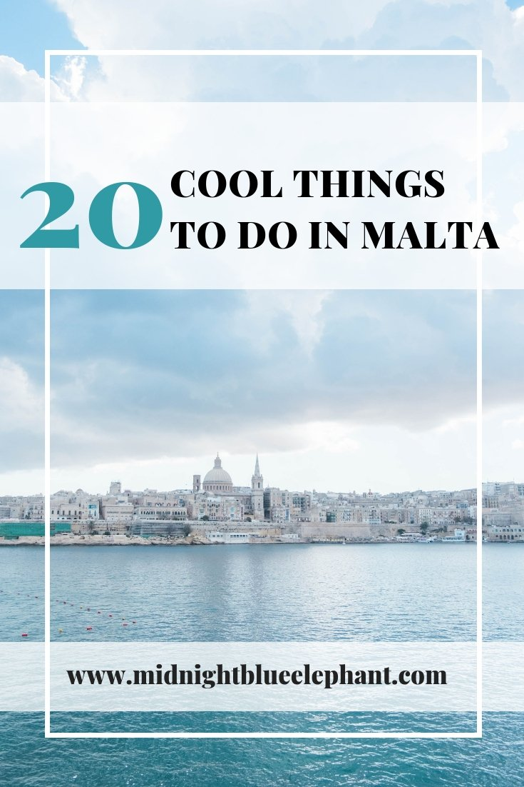 Malta is tiny but mighty. Europe's 5th smallest country really knows how to pack a punch with plenty to explore and do around its cities Valletta, Mdina, and Rabat. I share cool things to do in Malta & travel tips on where to stay and how to get around. #malta #gozo #valletta #mdina #travel #visitmalta