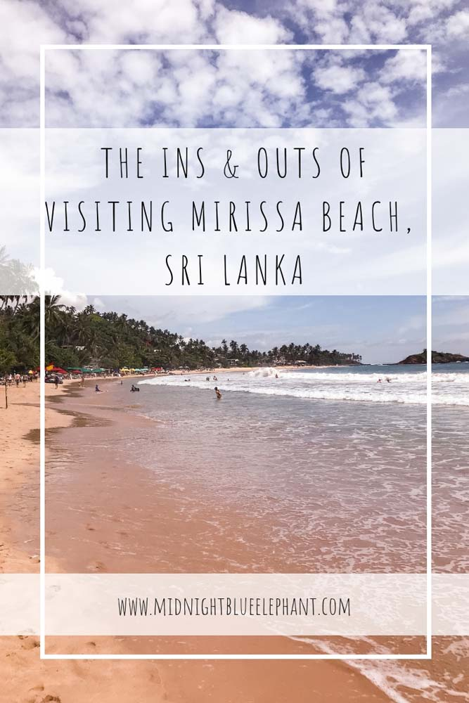 Looking for one of the best beaches in Sri Lanka? Then head to Mirissa beach in the south for some great waves, awesome sunset views and overall chilled vibes. I am sharing some great tips on where to stay in Mirissa, what to do and the best restaurants for Sri Lankan and international dishes as well as an ethical company to go whale watching in Mirissa. #mirissa #mirissabeach #srilanka #bluewhales #palmtree