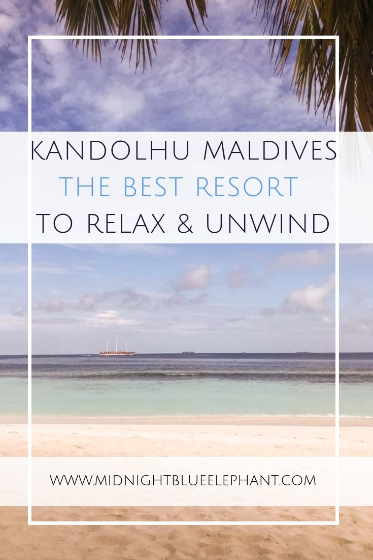 Are you planning the ultimate, relaxing Maldives vacation? I have found the perfect resort for you - all you have to do is get on a seaplane & hop over to Kandolhu in the North Ari Atoll. #maldives #northariatoll #kandolhu