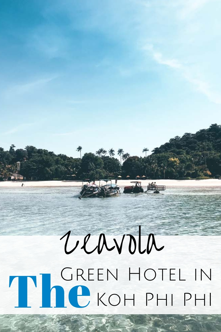Eco-friendly travel in Thailand made easy: for green luxury head to Zeavola, a sustainable Koh Phi Phi Hotel for a guilt-free and budget-friendly holiday. #thailand #kohphiphi Where to stay in Koh Phi Phi | Best Koh Phi Phi beach resorts | Sustainable hotels in Thailand | Koh Phi Phi island hotels | Eco-friendly hotels in Phi Phi island