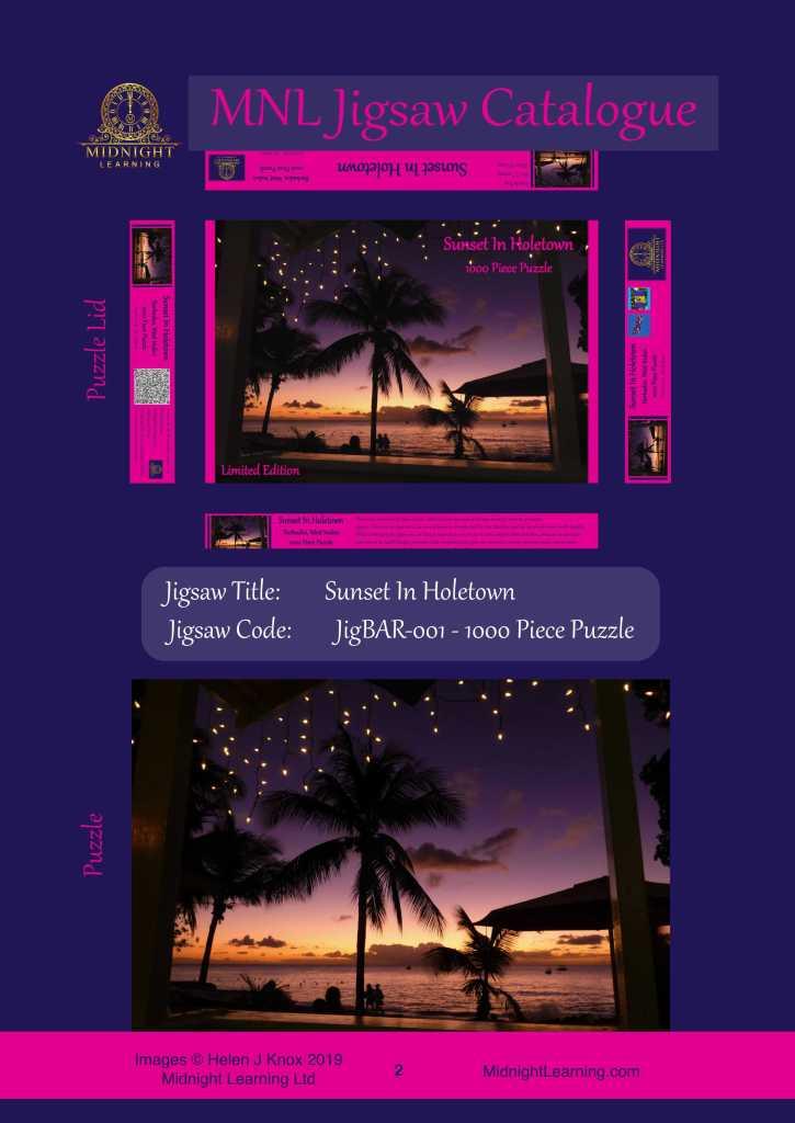Sunset in Holetown, Barbados