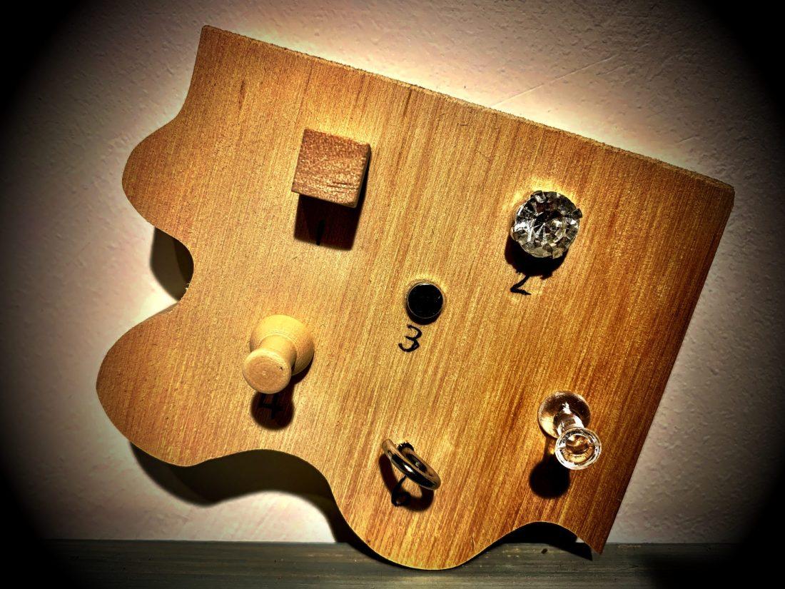 Chunky Jigsaw - 1=Wooden Cube Dexterity Embellishments