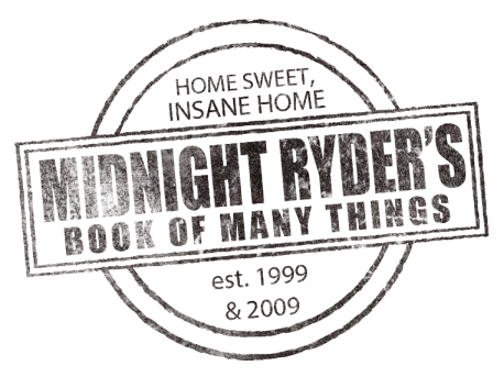 The New Midnight Ryder's Book Of Many Things Logo