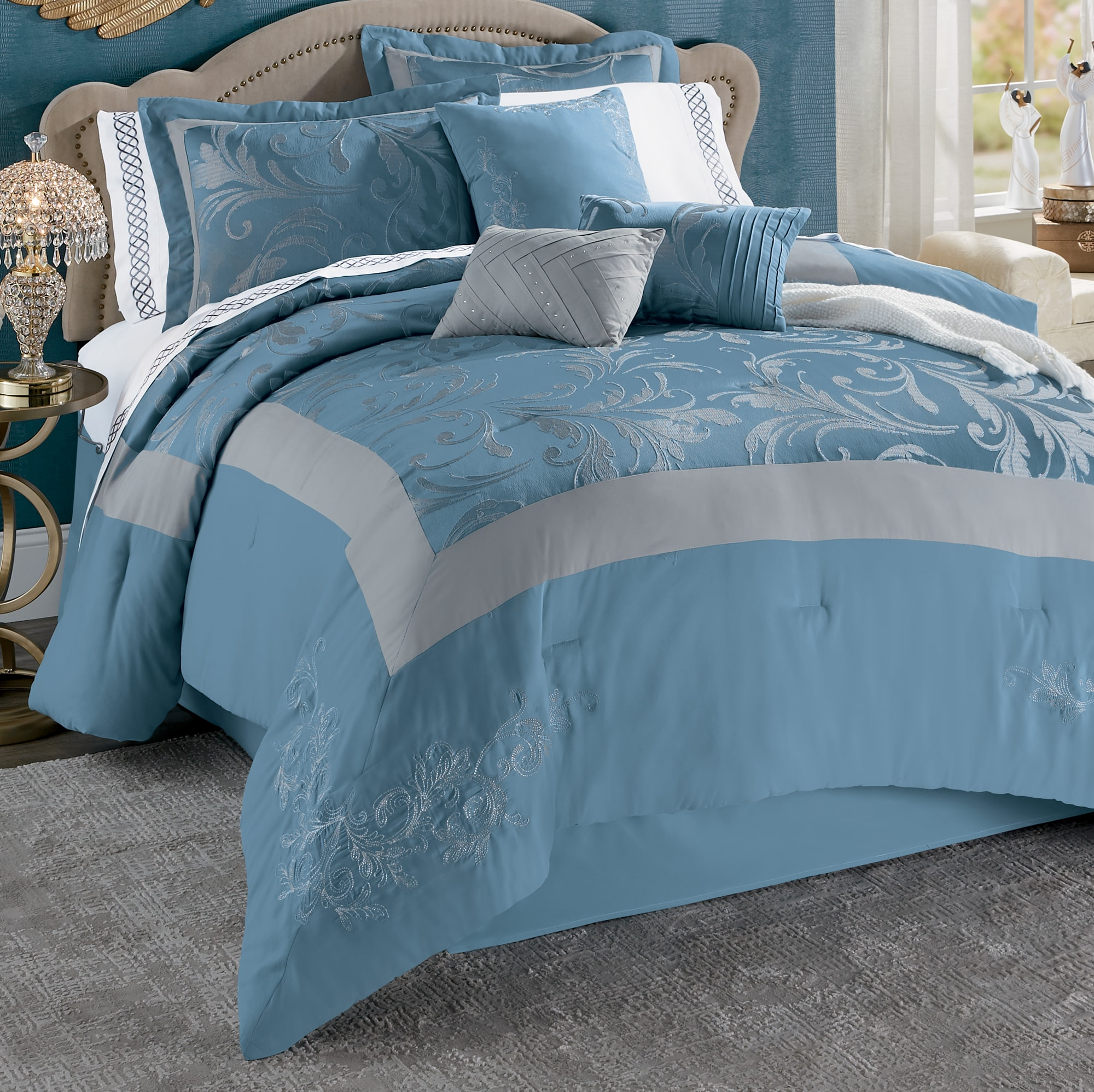 channing 7 piece bed set