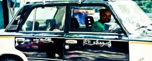 سواق التاكسى الفصيح !