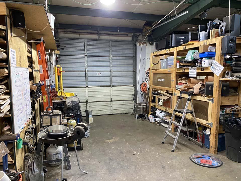 Clean Shop Garage