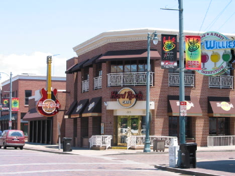 Hard Rock Cafe, Memphis