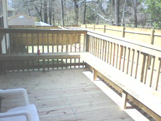 caring for your deck