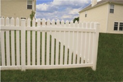 Illinois Style Picket Fence