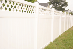 Louisiana Semi-Private Style Fence
