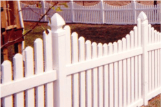 Rhode Island Style Picket Fence