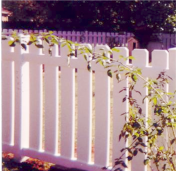 Wyoming Style Picket Fence
