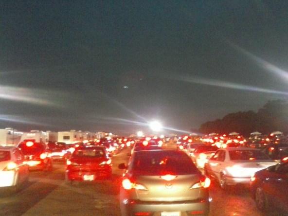 Road to Bonnaroo Traffic Jam