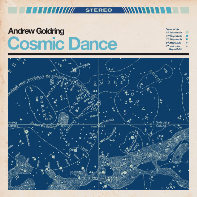 Andrew Goldring - Cosmic Dance (Single) Official Artwork