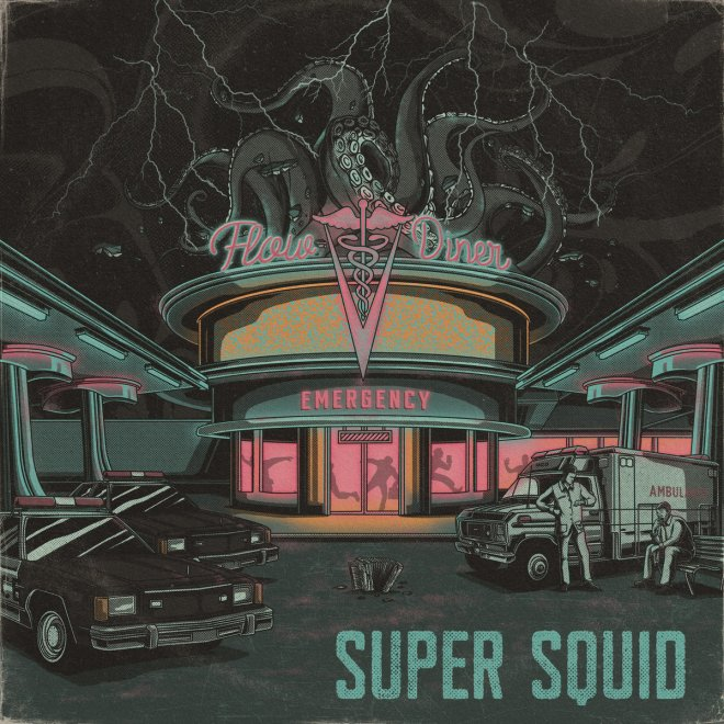 Prepare for an Exciting, Genre-Blending Sonic Experience – Super Squid's Flow Diner Now Available