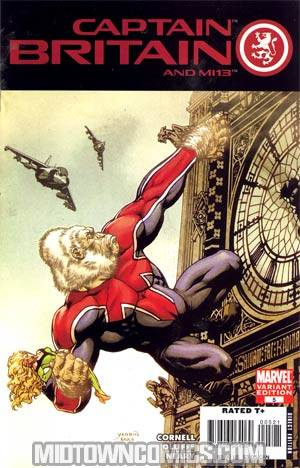 CAPTAIN BRITAIN AND THE MI-13 #4