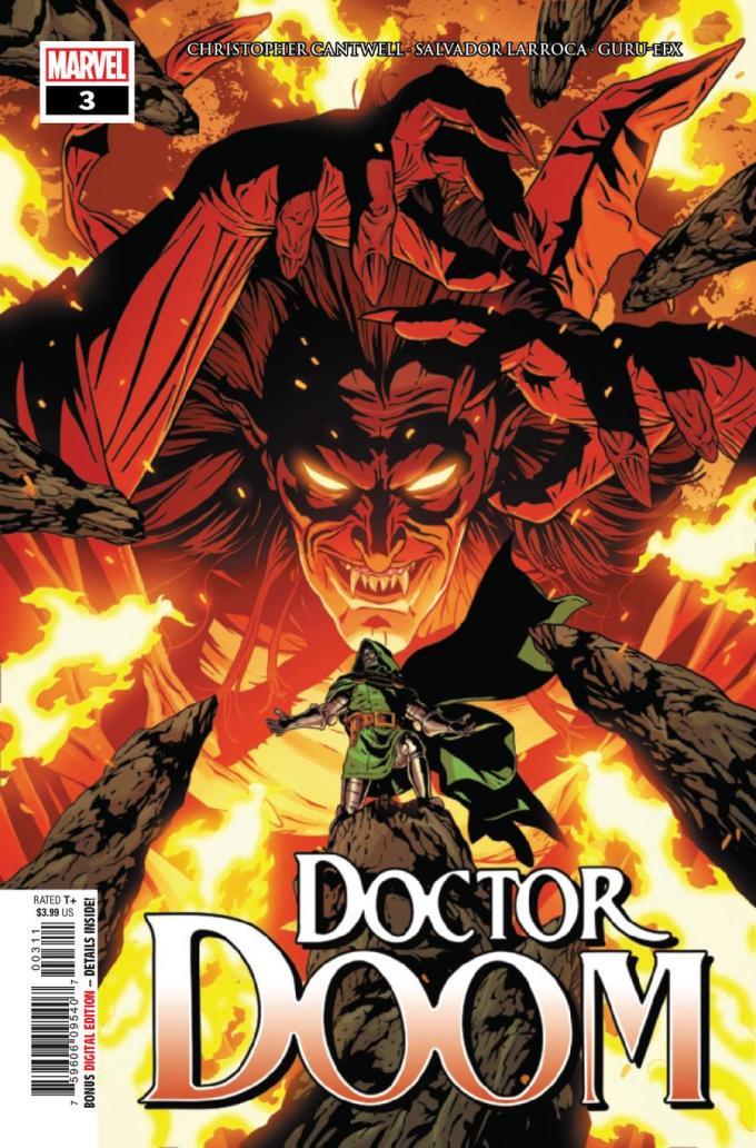 Doctor Doom 3 Cover A 1st Ptg Regular Aco Cover Midtown Comics